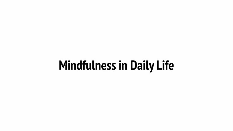 2 WHAT IS MINDFULNESS