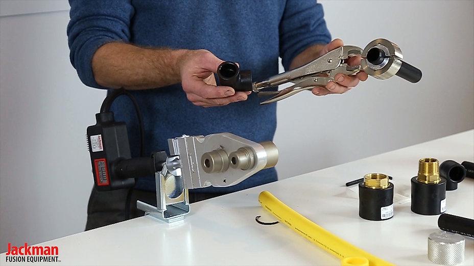 Hdpe Socket Fusion Demonstration   Jackman Fusion Equipment