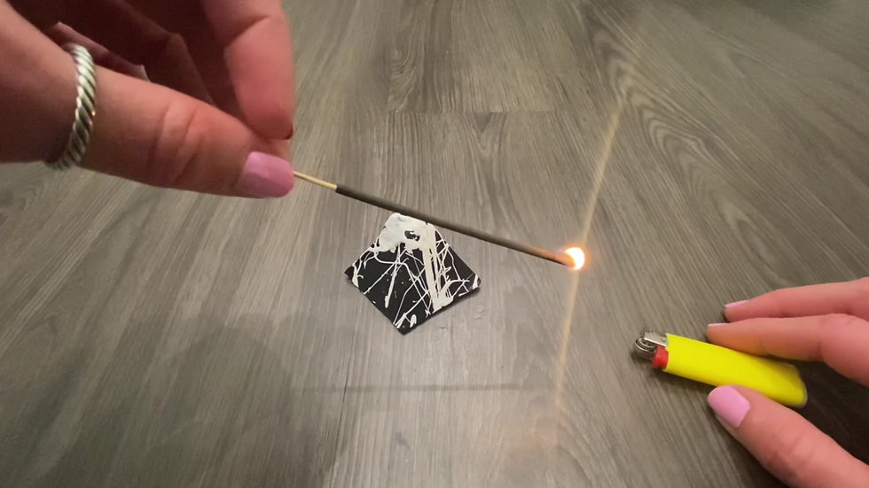 How To Burn Incense Sticks