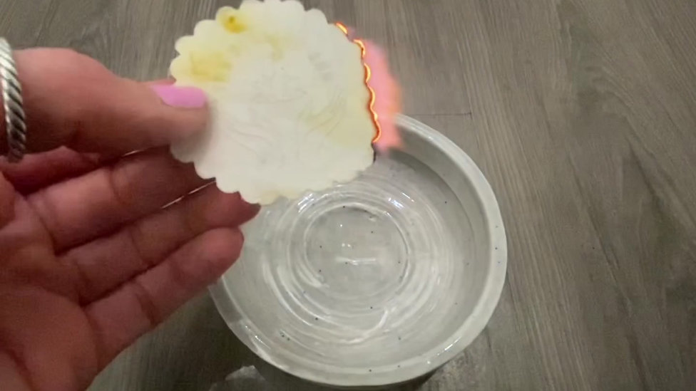 How To Burn Incense Paper