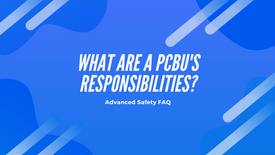 What are a PCBUs Responsibilities?