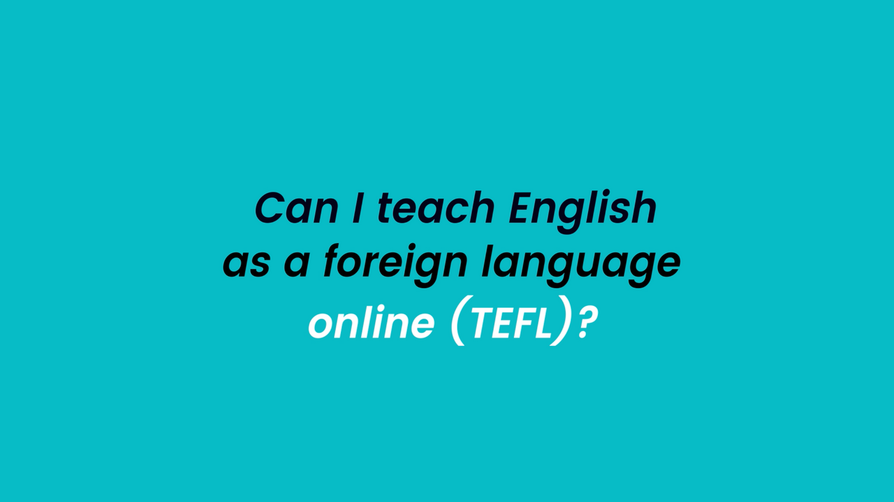 TEFL - E-Learning Series (S2, EP2)