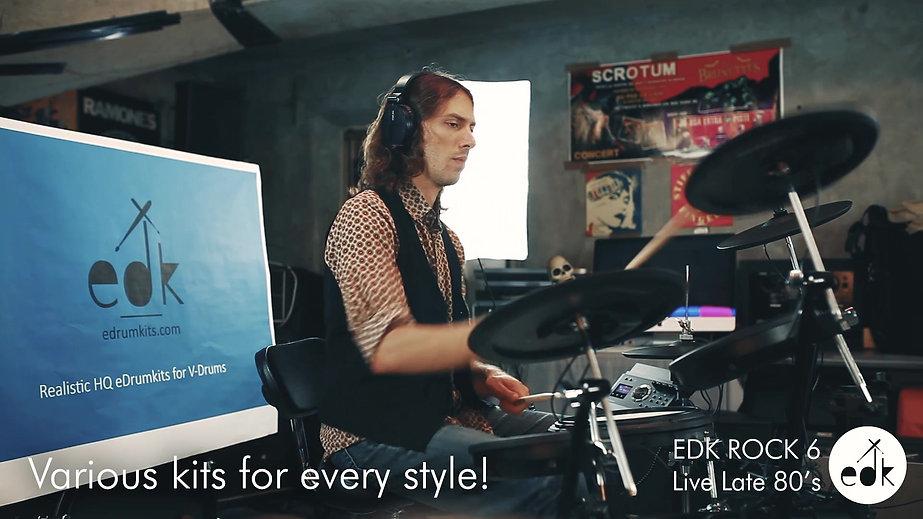 edk - Realistic Drum Kits for V-Drums