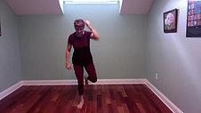 Bailando routine