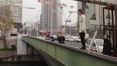 Chute de hauteur de 14m au pont de Grenelle