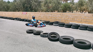 Race Kart Out Our Track Coming For Pit Stop And Coffee :)