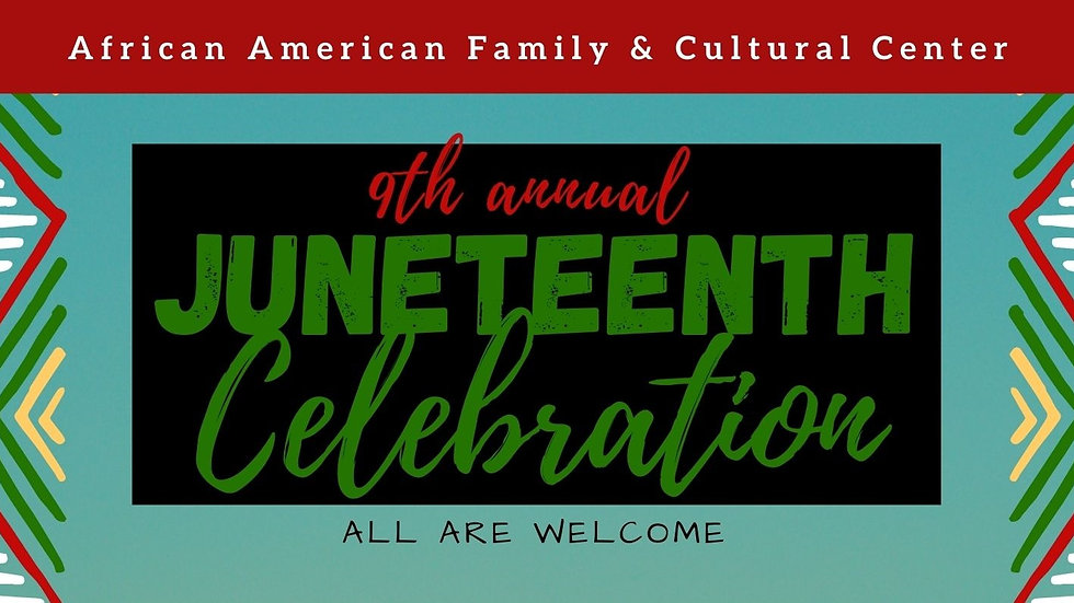 AAFCC Juneteenth Celebration