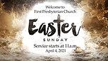 April 4, 2021; Easter Sunday