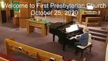 Sermon October 25, 2020