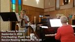 Sermon September 6, 2020
