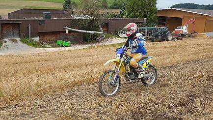 Motocross fahren 17.08.2019