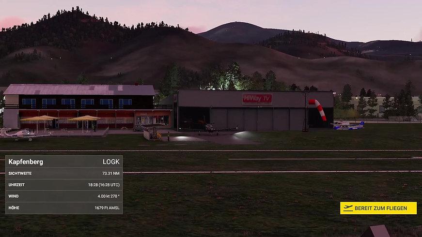 Flight sim info
