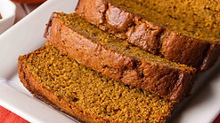 pumpkin bread (for thanksgiving if you're celebrating, or just for fun)