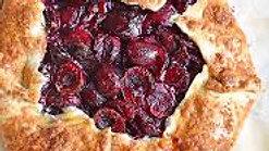 Baking Cherry Gallette with Rabbi