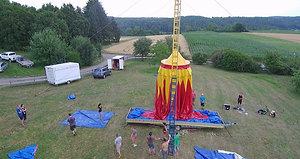 Aufbau Gechingen 2018