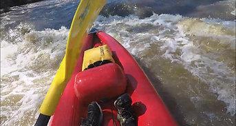 Kayaking the Yarra river