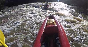 Kayaking the Yarra