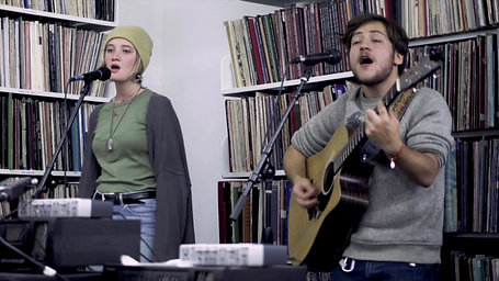 Manu Beker - The Idiot   LIVE at the library
