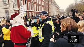 Father Christmas is arrested!