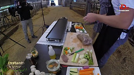RECETTE. Paleron de boeuf à la plancha accompagné de ses petits légumes