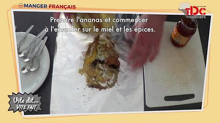 RECETTE - Ananas rôti aux épices