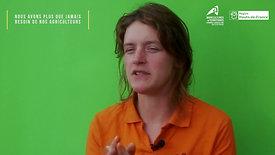 Mathilde Degrendel - Maraîchère à Cappy