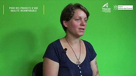 Claire GUERY, éleveuse à Berneuil