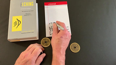 Casting Coins to get a Hexagram