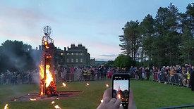 Culzean Castle - The Burning of the Wicker Man (Gloamin Event 2019).