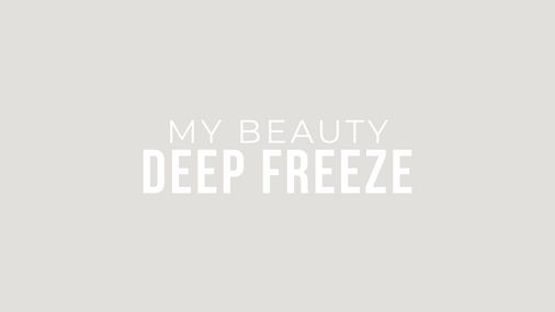 My Beauty Deep Freeze
