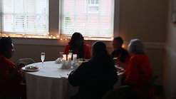Jazz Musician performs at the Holiday Brunch