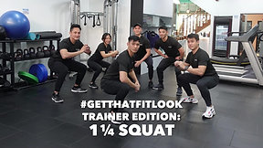 GTFL 1 1/4 squat