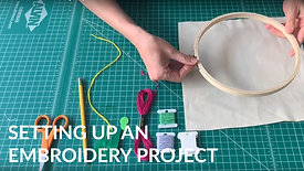 Setting up an Embroidery Project