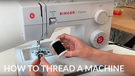 How to thread your sewing machine