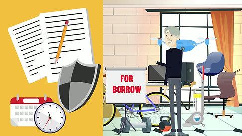 Borrow & Save $