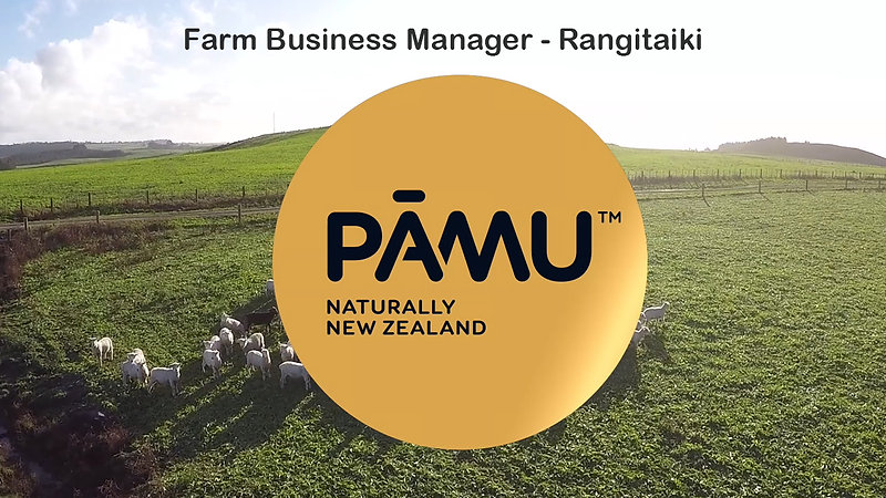 Rangitaiki Farm Business Manager