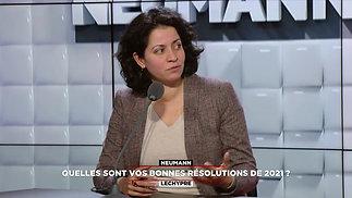 RMC Neumann Lechypre Bonnes résolutions - Extrait 2 Michelle Jean-Baptiste