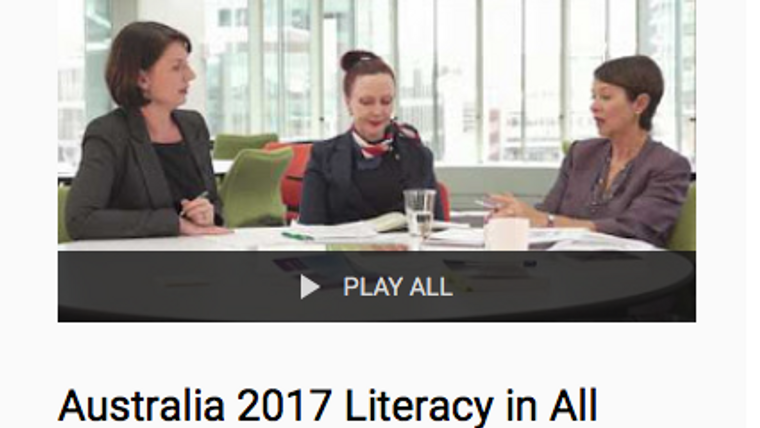 Australia 2017 Literacy in All Subjects