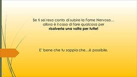 Fame vera vs Fame nervosa