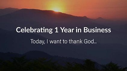 Celebrating 1 Year: Day 1
