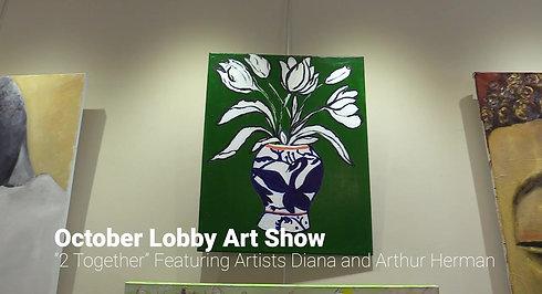 October 2 Across Lobby Art Show 720