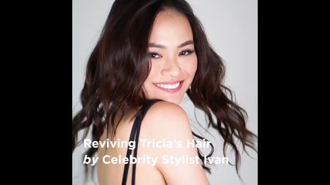 Reviving Tricia's Hair by Celebrity Stylist Ivan
