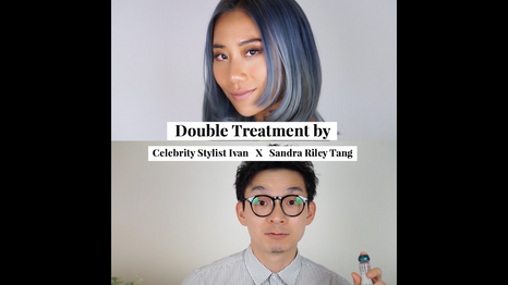 #DoubleTreatment on Sandra Riley Tang by Celebrity Stylist Ivan