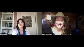 Kinari Webb in conversation with Katherine Standefer
