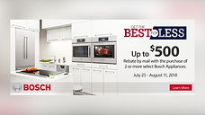 Just Say Yes | Bosch Appliances - 7:25-8:11 2018