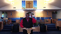 Sunday Morning - Pastor: Supt. Henry E. Tate III