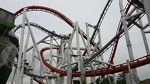 Wicked Rollercoaster at Universal Studios Sentosa