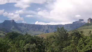 The Amphitheatre - Drakensburg (Dragons) Mountains