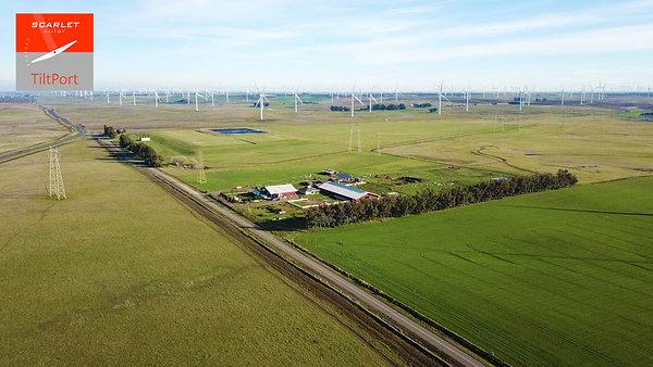 Scarlet solar TiltPort agriculture