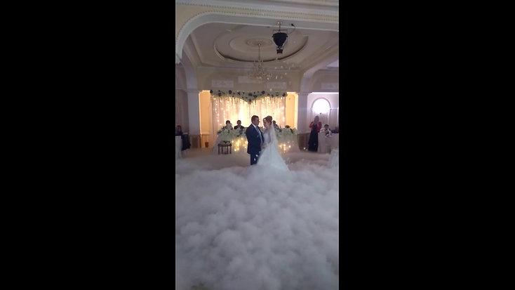 Супермега тяжелый дым (без подсветки) в зале Хрустальный
